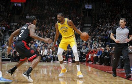 Kevin Durant tỏa sáng, Golden State Warriors vẫn thua trận