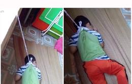 Nam Định: Đình chỉ cô giáo buộc học sinh vào cửa sổ