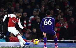 VIDEO Arsenal 1-1 Liverpool: Bất phân thắng bại