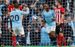 VIDEO Man City 6-1 Southampton: Chiến thắng với tỷ số của set tennis