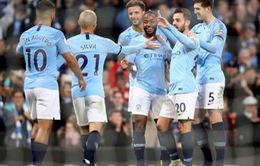 """""""Hủy diệt"""" Southampton tới 6-1, Man City trở lại ngôi đầu Ngoại hạng Anh"""