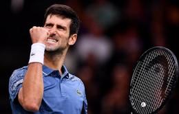 Thắng kịch tính Federer, Djokovic vào chung kết Paris Masters 2018