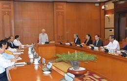Ban Chỉ đạo xây dựng quy hoạch cán bộ cấp chiến lược nhiệm kỳ 2021-2026 họp phiên đầu tiên