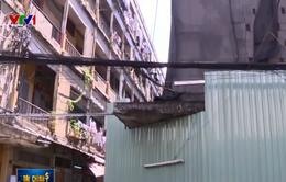 13 chung cư hư hỏng nặng tại TP.HCM sắp được sửa chữa