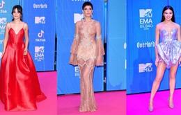 Dàn sao khoe sắc tại thảm đỏ MTV EMAs 2018