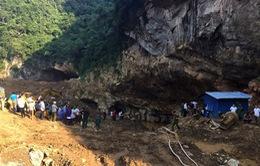 Hòa Bình: Sập hầm khai thác vàng trái phép, 2 người mất tích