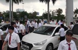 Đà Nẵng: Kiểm soát tình trạng đình công của tài xế taxi  tại sân bay quốc tế Đà Nẵng