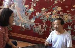 Khám phá nghề làm tranh sơn mài Hạ Thái