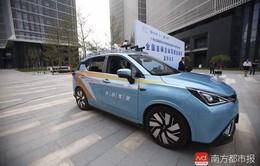 Dịch vụ taxi tự lái đầu tiên tại Trung Quốc