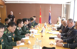 Việt Nam - New Zealand tăng cường hợp tác quốc phòng