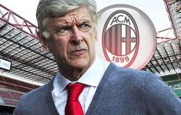 """""""Giáo sư"""" Arsene Wenger  sẽ trở thành HLV trưởng của AC Milan"""
