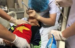 Bé trai 6 tuổi chấn thương sọ não do ngã xe đạp hồi sinh kỳ diệu