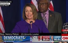 Bầu cử Quốc hội Mỹ giữa nhiệm kỳ: Đảng Dân chủ tuyên bố nắm quyền ở Hạ viện
