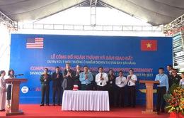 Hoàn thành xử lý ô nhiễm dioxin, bàn giao đất sạch để phục vụ mở rộng sân bay Đà Nẵng