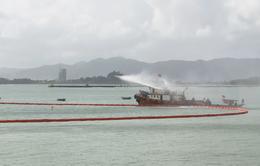 Đà Nẵng diễn tập ứng phó sự cố tràn dầu trên biển