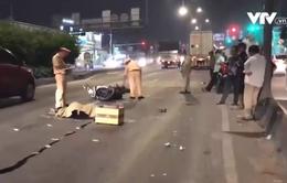 Chạy xe máy vào làn ô tô, nam thanh niên bị tông tử vong