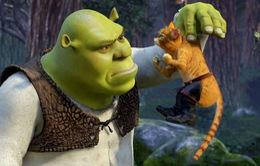 """""""Shrek"""" và """"Mèo đi hia"""" sẽ có phiên bản điện ảnh mới"""