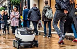 Ra mắt dịch vụ robot giao hàng đầu tiên trên thế giới