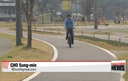 Xu hướng sử dụng xe đạp điện bùng nổ tại Hàn Quốc