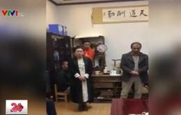 Trường mầm non ở Trung Quốc đổ nước vào sữa