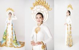 Thuỳ Tiên hé lộ trang phục truyền thống khi vừa lọt Top 8 Miss International