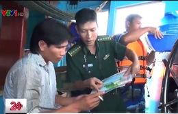 Đẩy mạnh tuyên truyền cho ngư dân sử dụng thiết bị nhận dạng đúng quy định