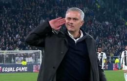 Mourinho lý giải hành động ăn mừng đầy khiêu khích với CĐV Juventus