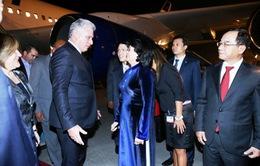Chủ tịch HĐNN và HĐBT Cuba bắt đầu thăm chính thức Việt Nam