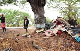 Tai nạn xe bus ở Zimbabwe, ít nhất 47 người thiệt mạng