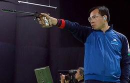 Hoàng Xuân Vinh xếp hạng 2 thế giới 10m súng ngắn hơi nam