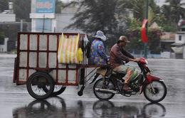Mưa lớn ở miền Trung gây ngập nhiều tỉnh thành