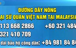 Đại sứ quán mở thêm một đường dây nóng trước trận Malaysia-Việt Nam