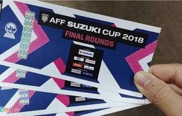 10h sáng nay (10/12), VFF mở bán vé Online trận chung kết lượt về AFF Cup 2018