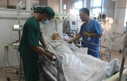 Trắng đêm cấp cứu 12 bệnh nhân bị tai nạn giao thông