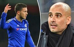 Guardiola và Eden Hazard ủng hộ Raheem Sterling