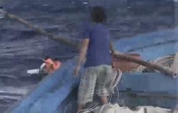 Chàng ngư dân cứu người trên biển