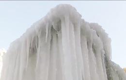 Thác băng tuyệt đẹp tại Trung Quốc