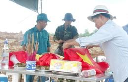 Hồi hương 30 hài cốt liệt sĩ Việt Nam hy sinh tại Lào