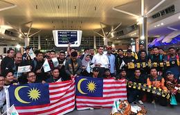 CĐV Malaysia đổ bộ đến Hà Nội trước trận chung kết lượt về AFF Cup