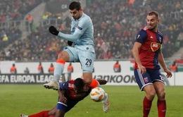 Alvaro Morata gặp chấn thương đầu gối