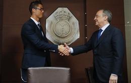 """""""Sếp"""" Real Madrid vẫn chưa thôi nhớ C.Ronaldo"""