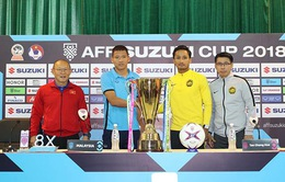 Họp báo trước trận CK lượt về AFF Cup 2018 ĐT Việt Nam - ĐT Malaysia: HLV Park và Anh Đức quyết thắng