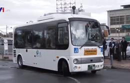 Nhật Bản triển khai dịch vụ xe bus tự lái