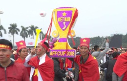 Hà Nội rực sắc đỏ trong ngày diễn ra chung kết AFF Cup 2018