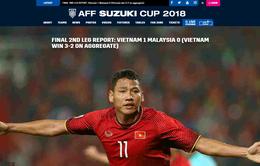 Trang chủ AFF Cup ngả mũ với hàng thủ ĐT Việt Nam trong chiến tích vô địch