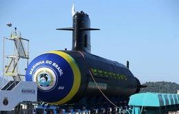 Brazil hạ thủy tàu ngầm hạt nhân đầu tiên