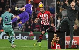 Thảm họa phòng ngự, Arsenal đứt mạch bất bại ở con số 22