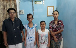 Đáng thương ba cha con nghèo mắc trọng bệnh không tiền chữa trị