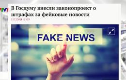 Xem xét Luật chống tin giả: Chủ đề được báo chí Nga quan tâm trong tuần qua