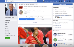 Hàng loạt trang Facebook mạo danh HLV Park Hang Seo